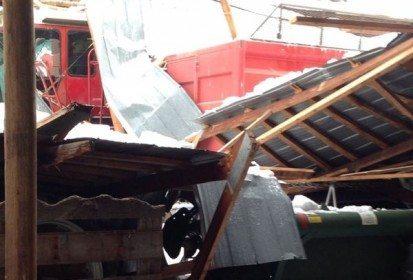 Insurance won't cover the $120,000 price tag to rebuild Ken Munro's machine shed. (Photo courtesy Ken Munro)