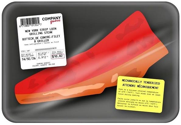 Health Canada's example of a new MTB label on a retail beef cut. (HC-SC.gc.ca)