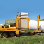 Vermeer's BW5500 inline bale wrapper is designed to help speed up the wrapping process for large producers or custom operators.