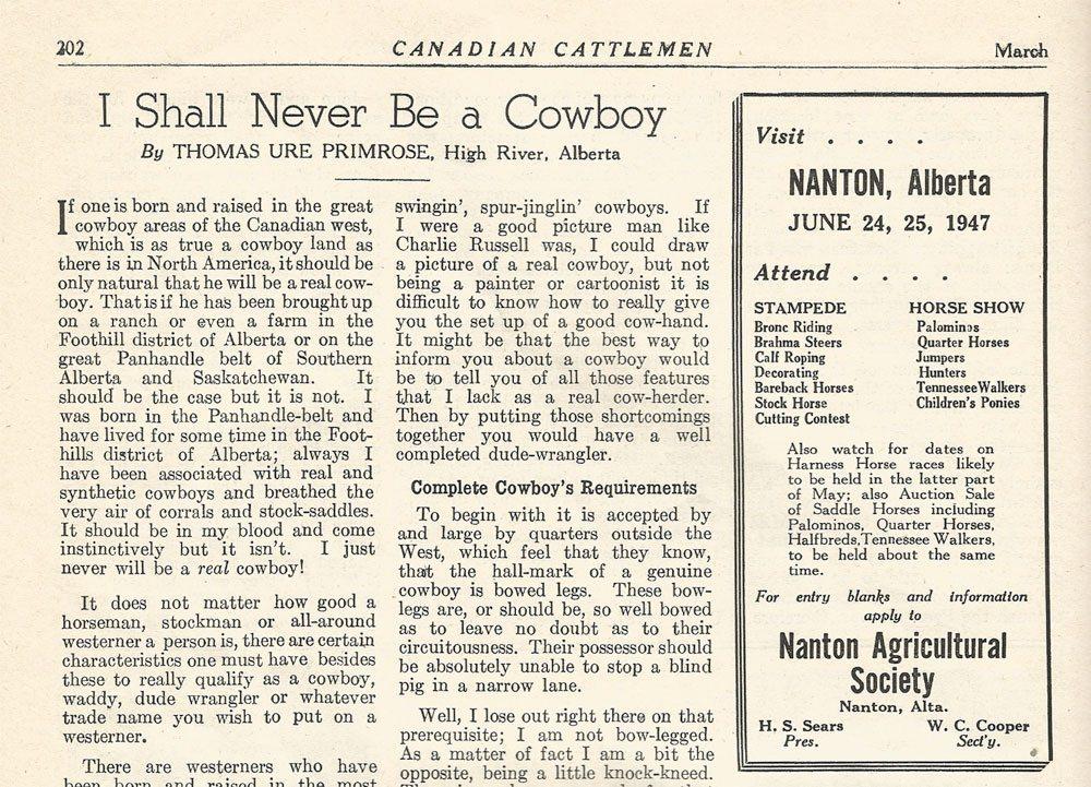 I-shall-never-be-a-cowboy-Mar47-carousel