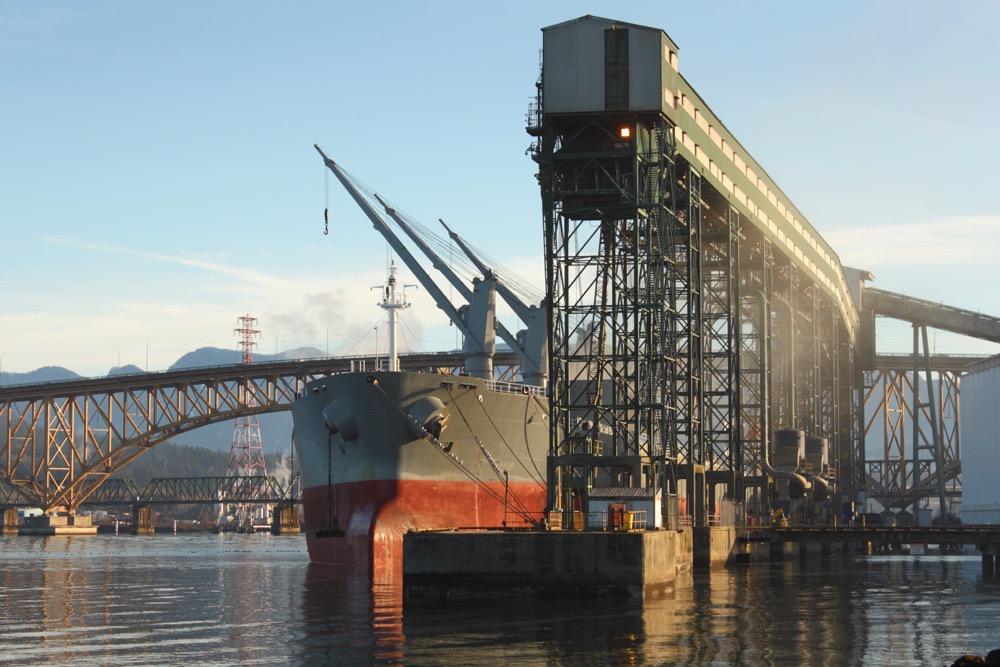 port of vancouver grain