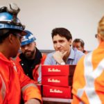 trudeau at stelco