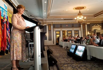 bibeau at DFC AGM