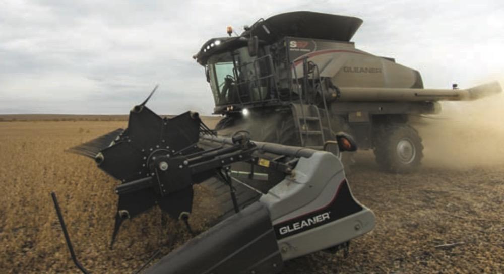 Gleaner E Combine : Agco updates its gleaner combines grainews