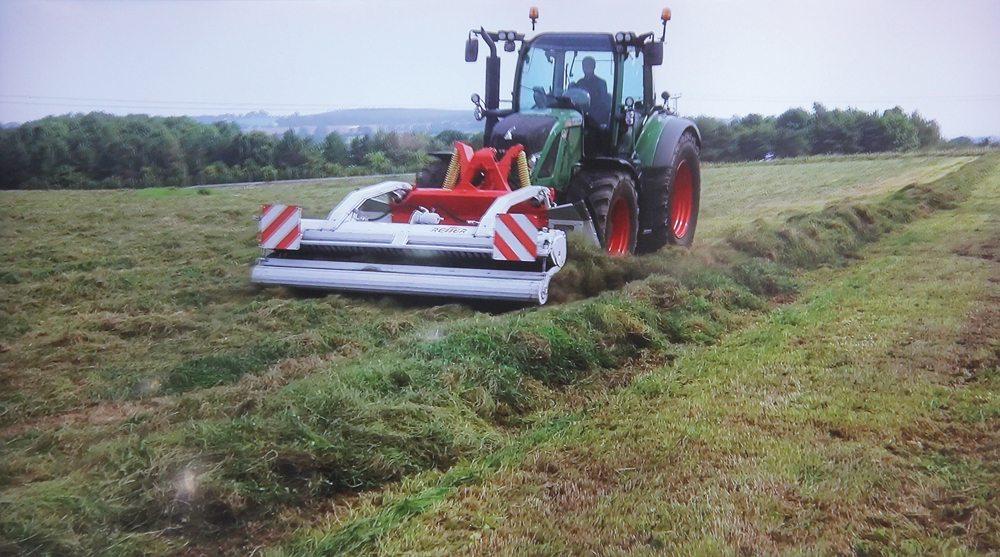 Reiter redefines the hay rake - Grainews