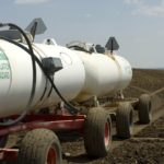 Anhydrous Ammonia tanks