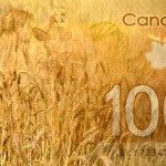 Prairie wheat bids mixed with choppy loonie