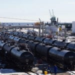 Grain shippers wary as more oil moves to rail